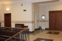 Hol w części B budynku Sądu